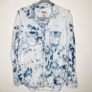 Mission Supply Co. Boyfriend Fit Acid Wash M